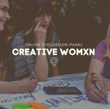 CREATIVE WOMXN | Οnline Discussion Panel by SAE Athens