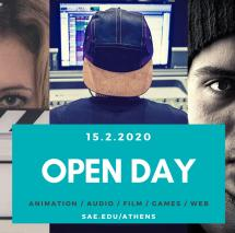 OPEN DAY στην SAE